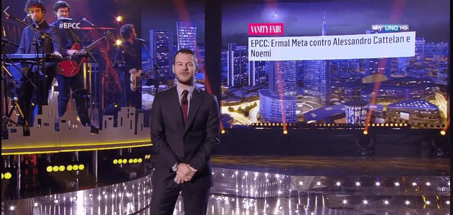Alessandro Cattelan, la replica a Ermal Meta e la pace su Twitter: canteranno insieme a EPCC