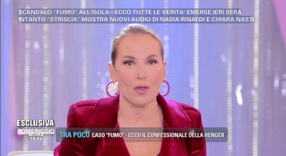 Barbara D'Urso replica ad Alessia Marcuzzi: 'Non sono contro L'Isola dei famosi, ma da me nessuna censura'