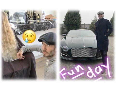 Beckham Aston Martin