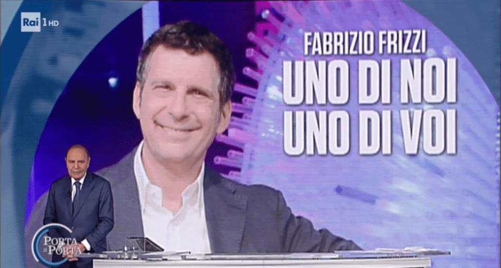 Bruno Vespa ricorda Fabrizio Frizzi a Porta a Porta
