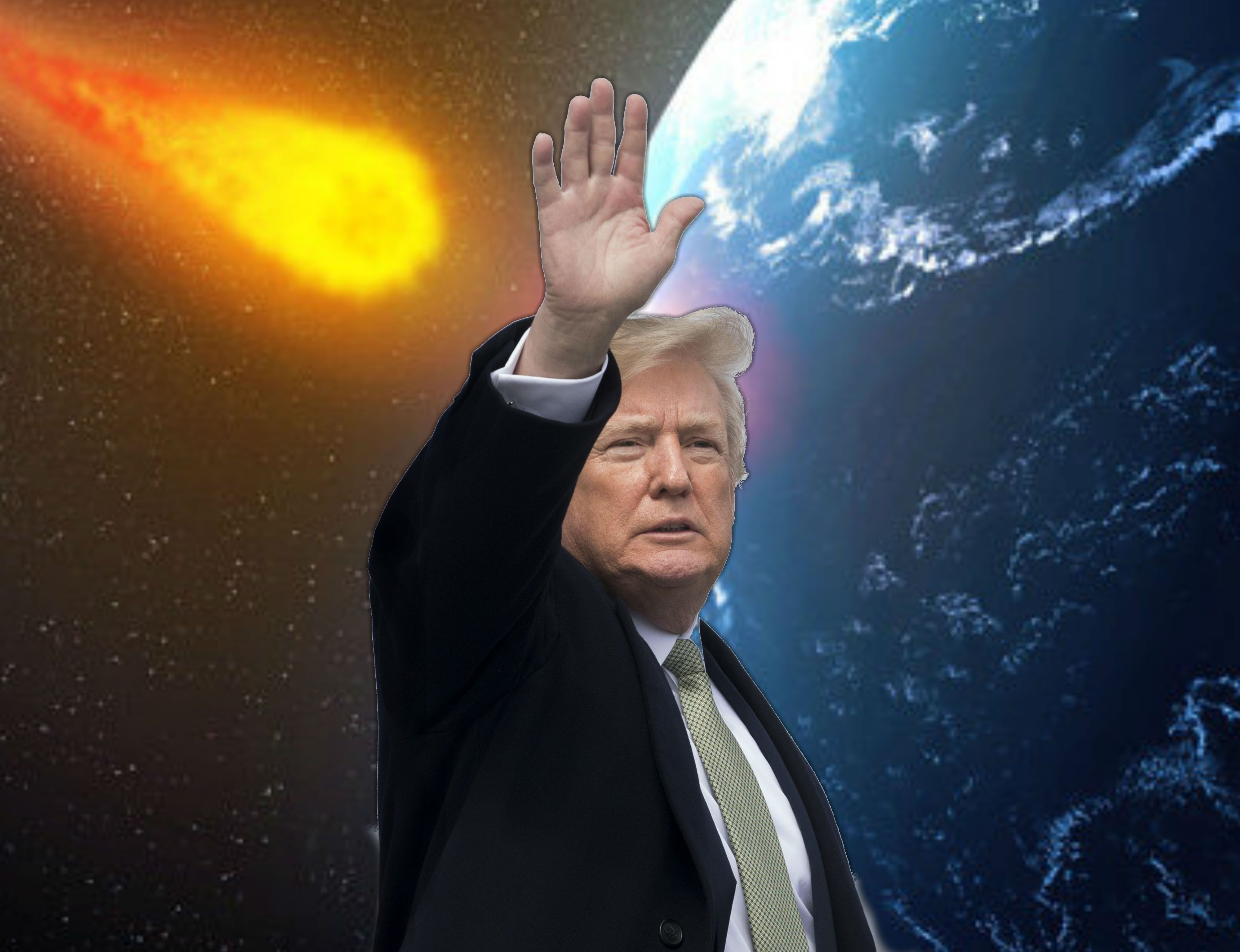 Donald Trump meteora