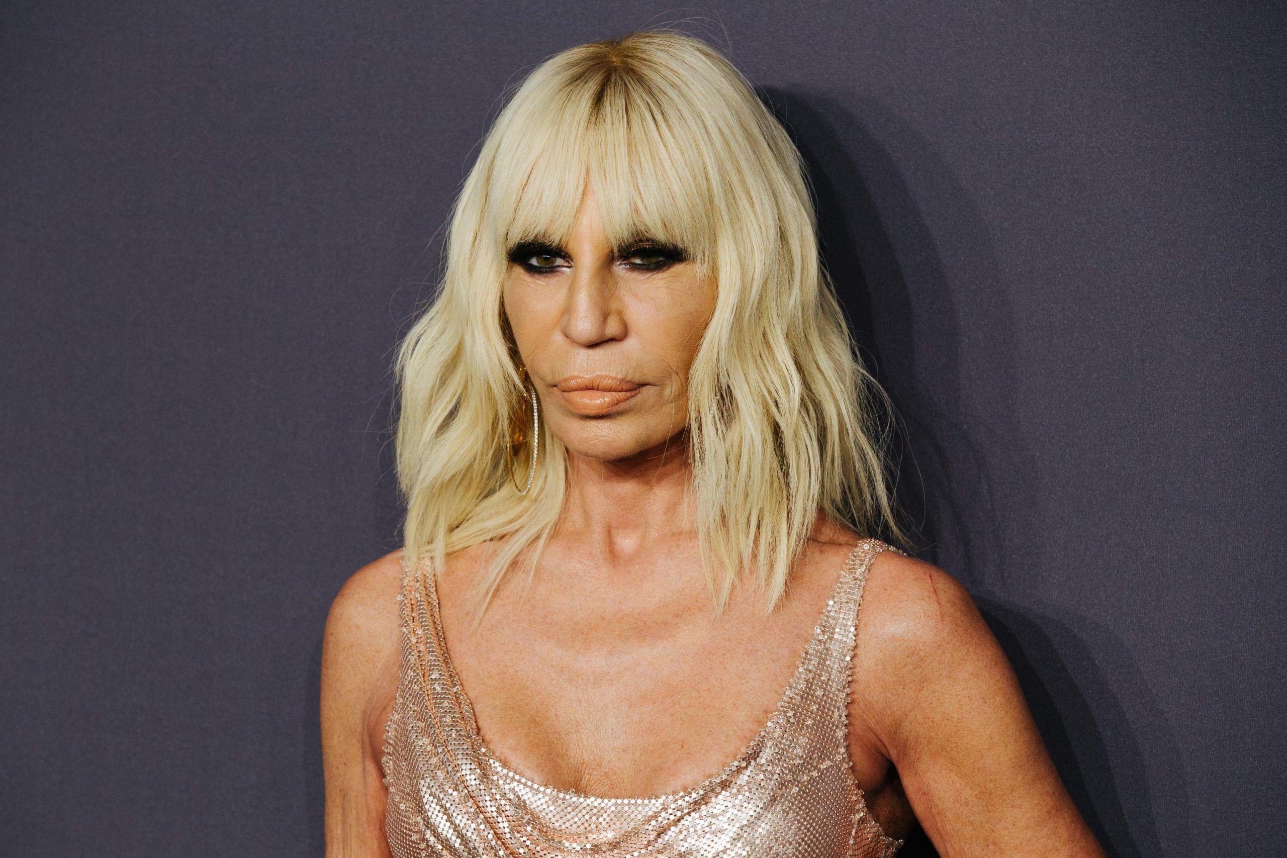Donatella Versare basta pellicce