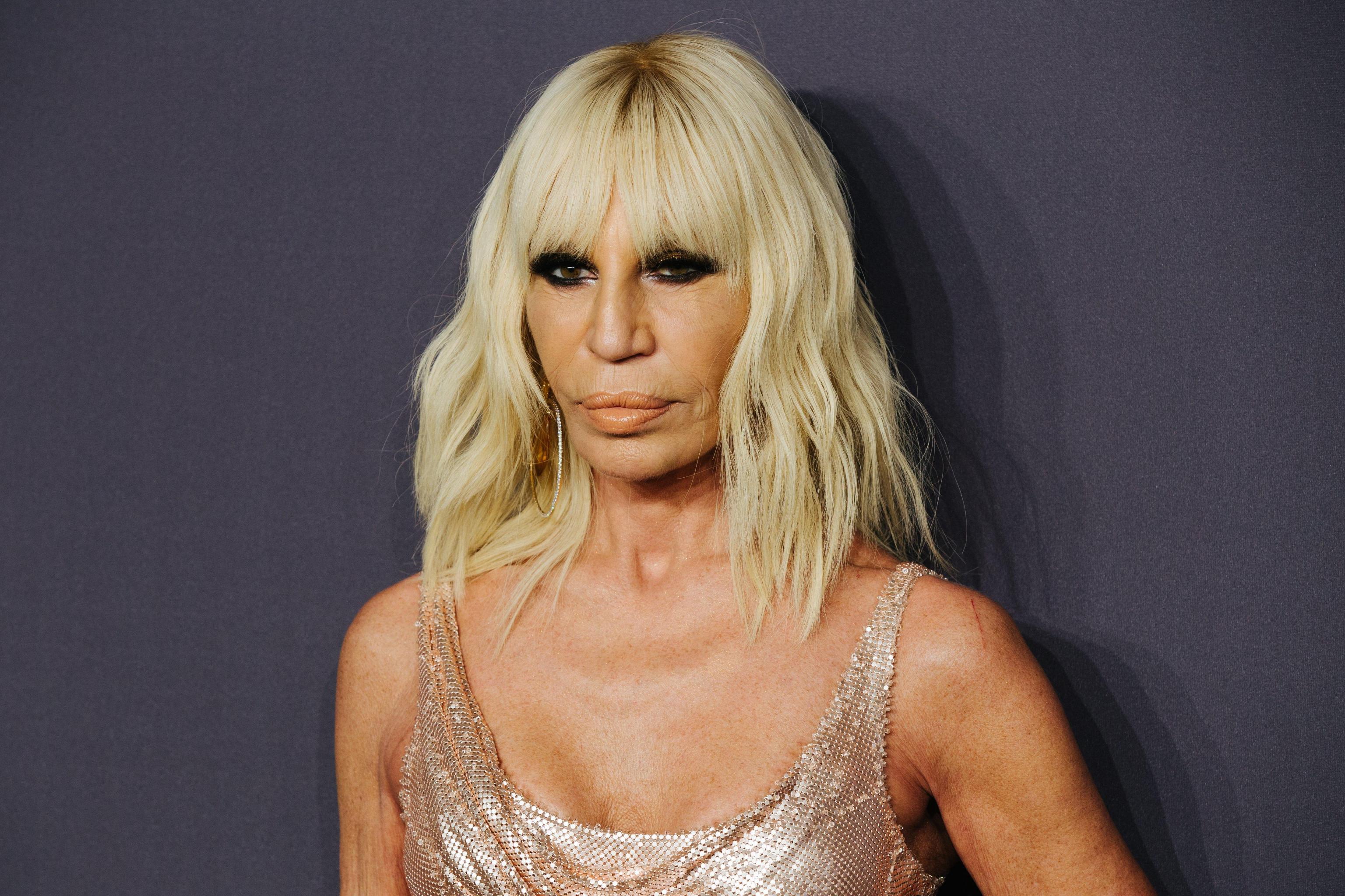 Donatella Versace: 'Basta pellicce, non voglio uccidere animali per la moda'