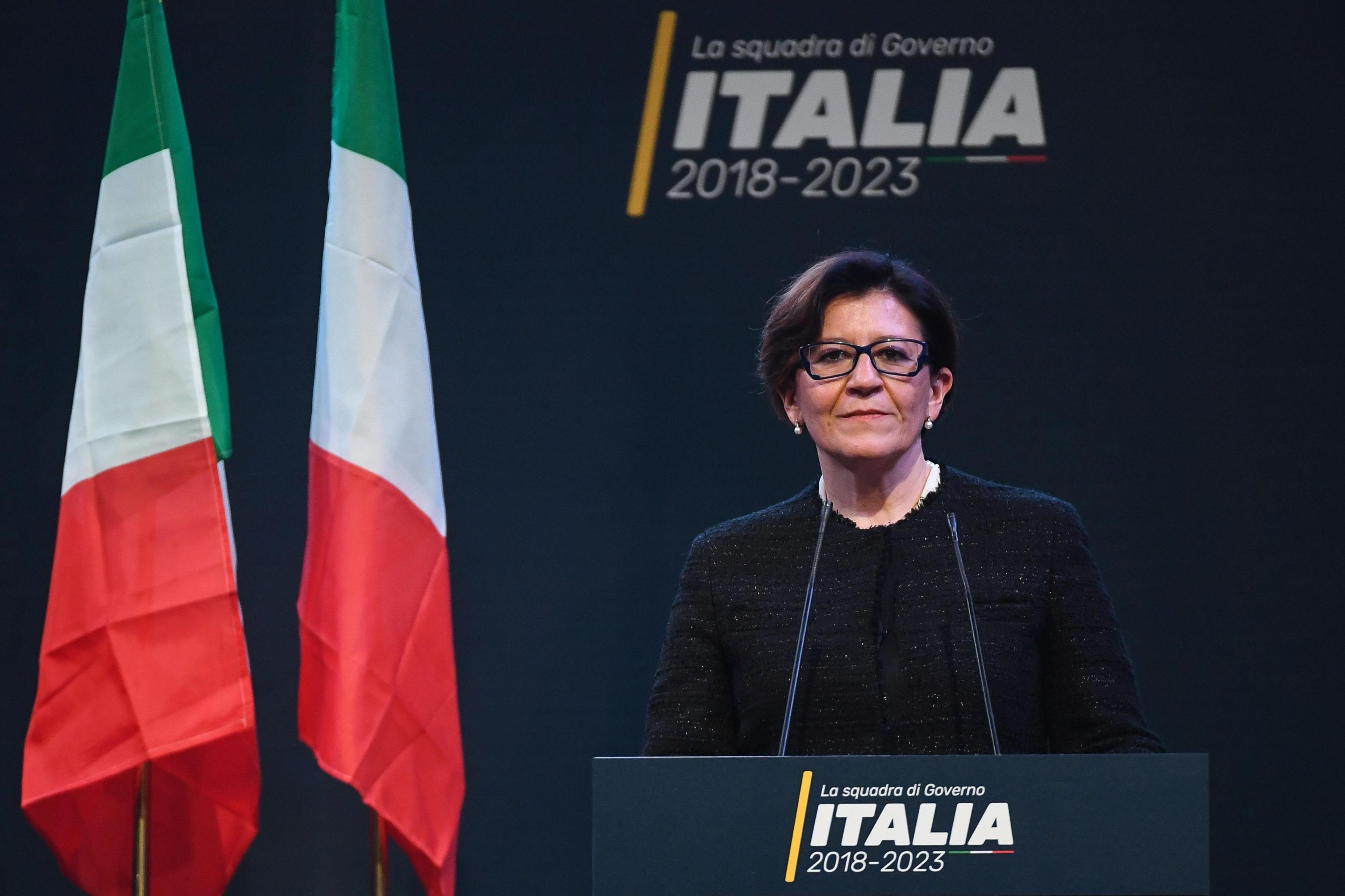Elisabetta Trenta M5S a Difesa