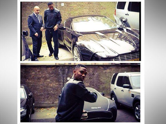Etoo Aston Martin