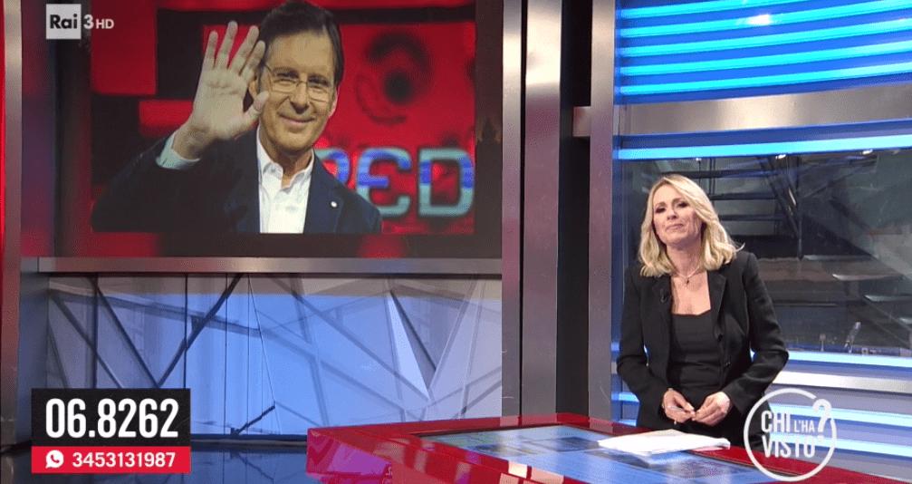 Federica Sciarelli ricorda Fabrizio Frizzi a Chi l'ha visto