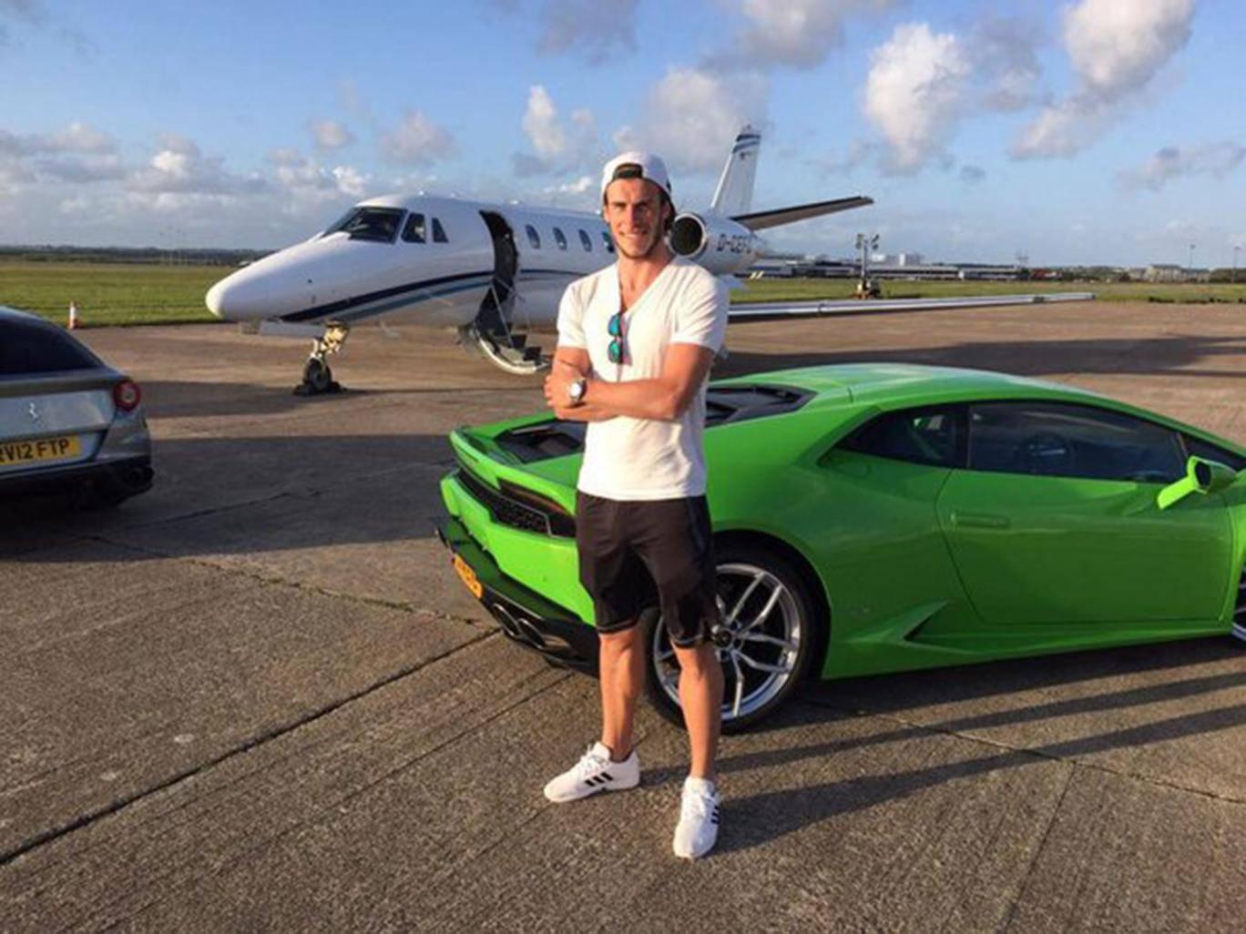 Gareth Bale Lamborghini