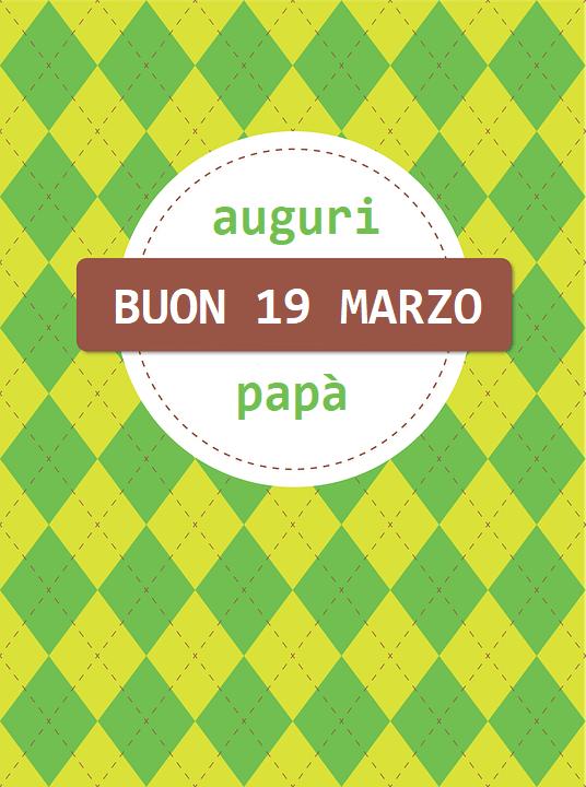 Immagini auguri festa del papa 19 marzo