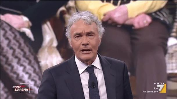 Non è L'Arena, Massimo Giletti sbotta: 'In questo Stato non mi ci trovo'