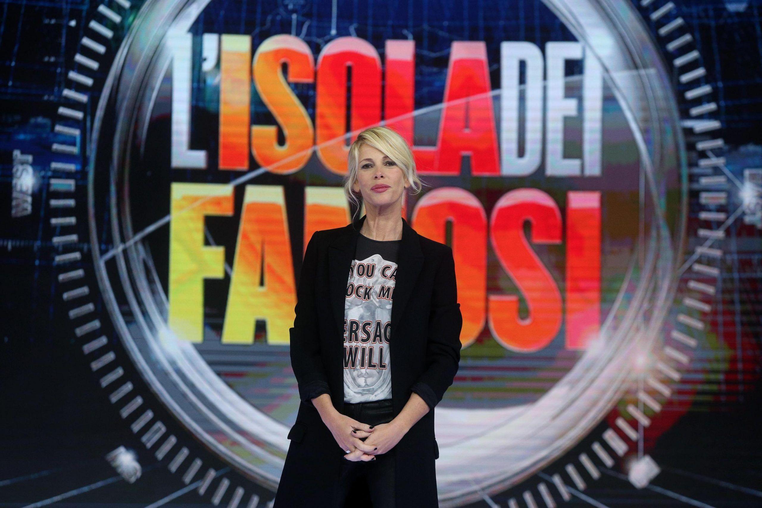Alessia Marcuzzi spoiler isola gaffe