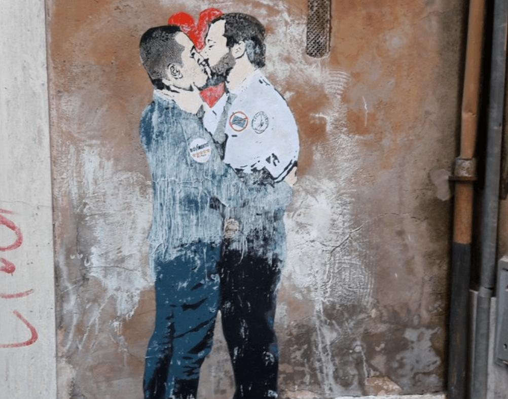 bacio salvini dimaio