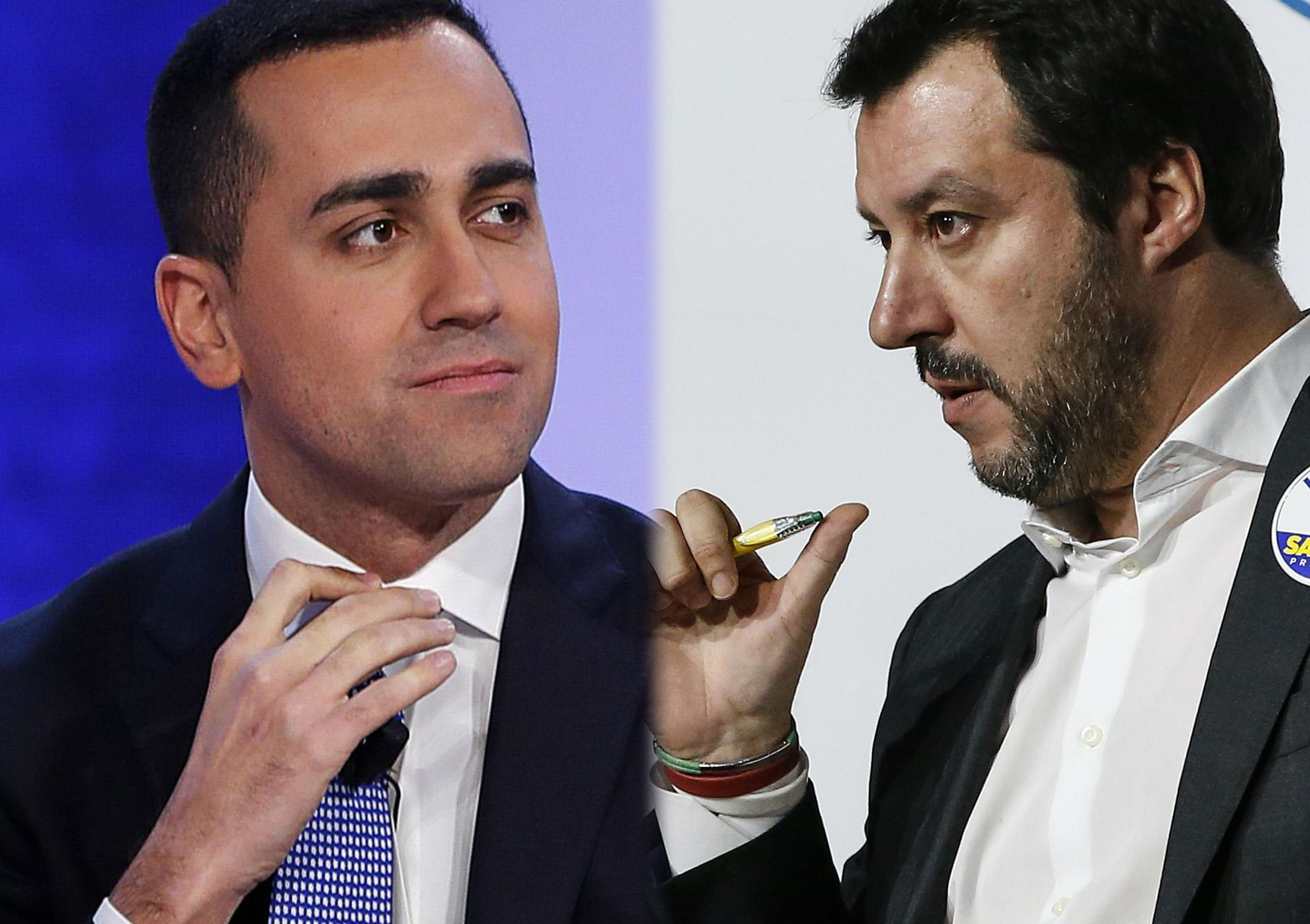 Matteo Salvini e Luigi Di Maio: da nemici giurati a quasi amici