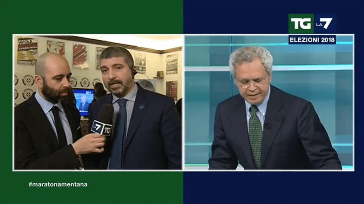 Elezioni politiche 2018, scontro Mentana e CasaPound: 'Volevate fare Fantastico?'