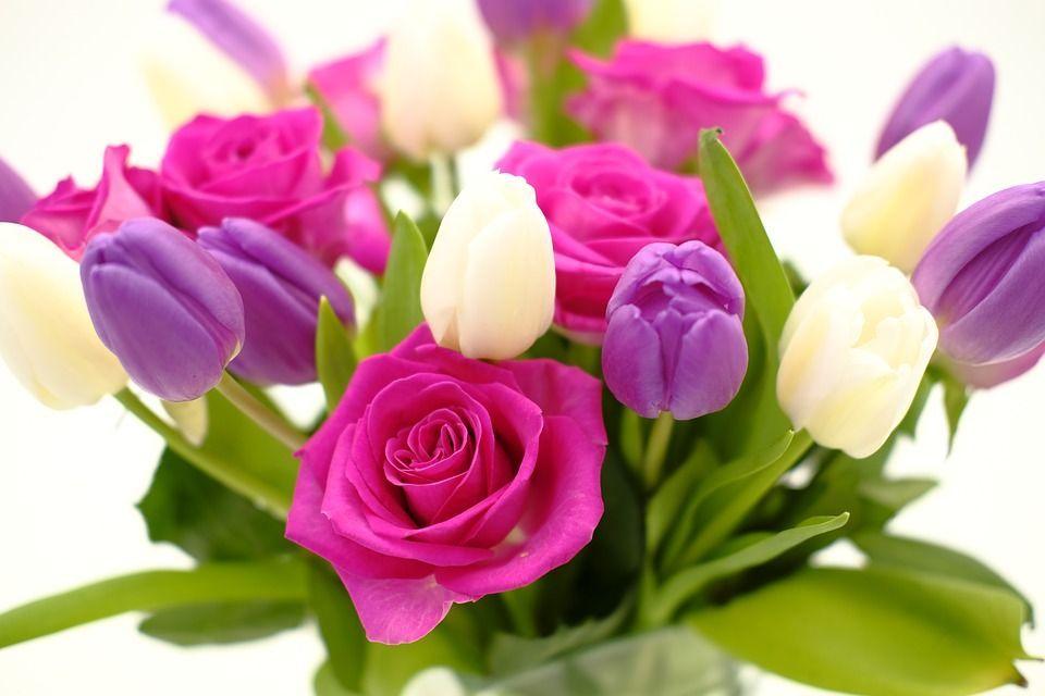 immagini festa della donna fiori e bouquet
