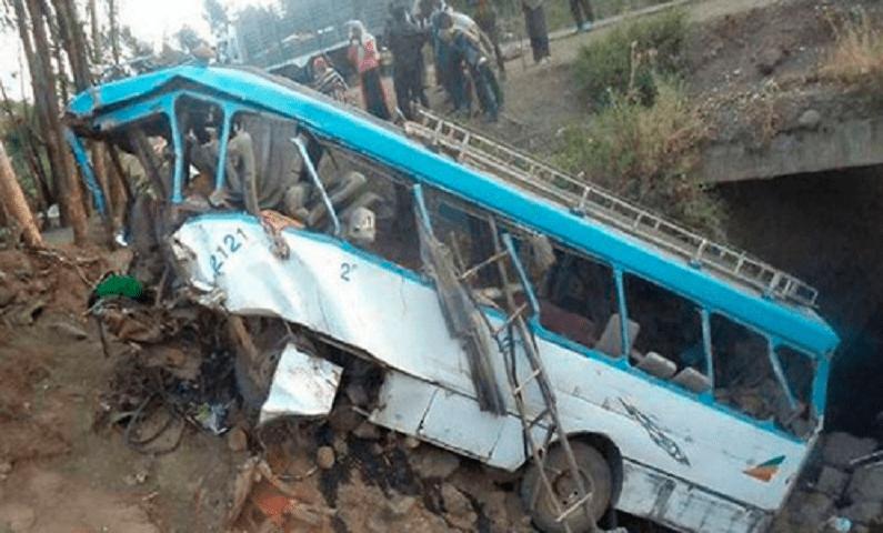 Strage di studenti in Etiopia: bus cade in una scarpata
