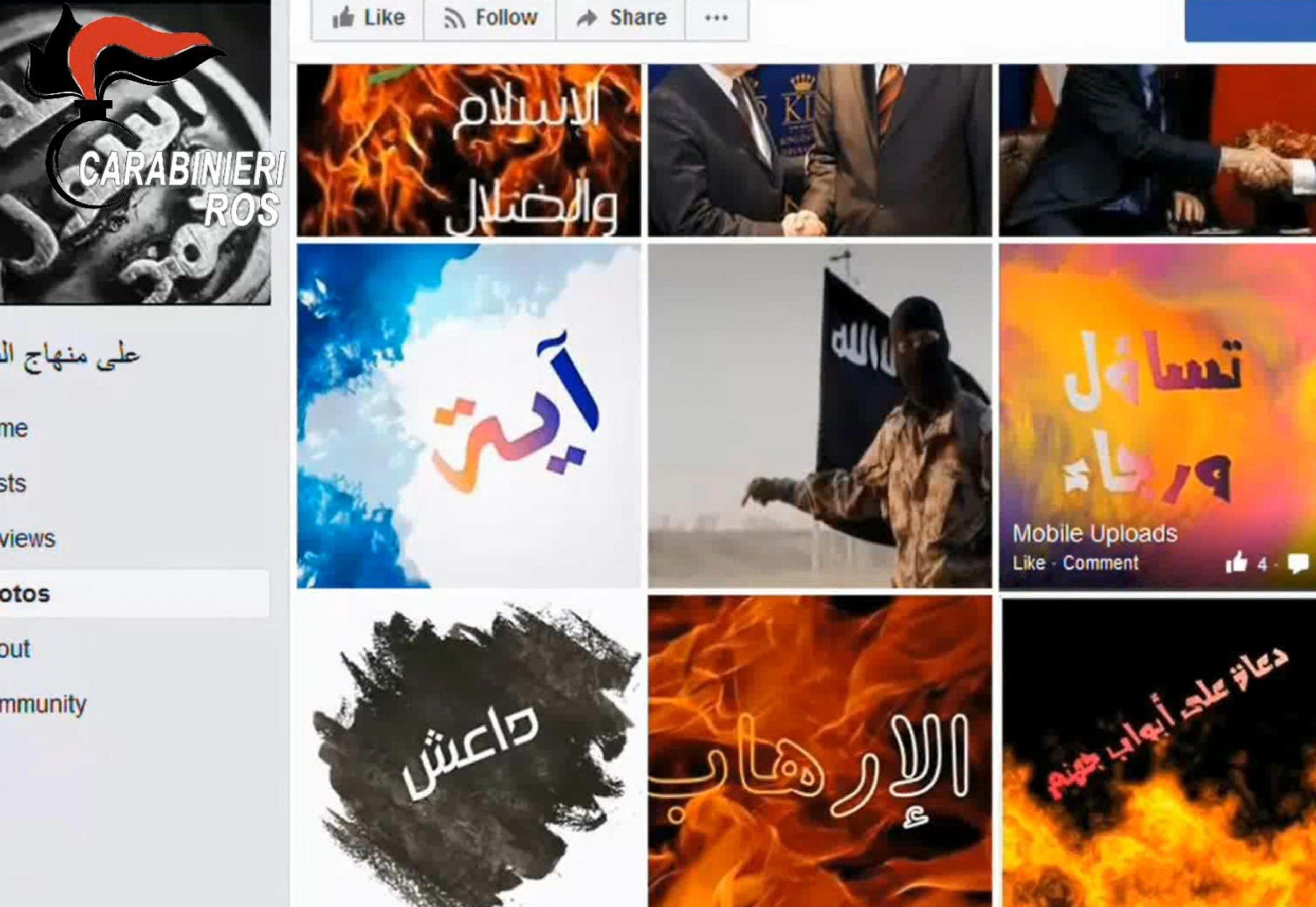 Terrorismo: blitz Ros, fermato marocchino in Piemonte