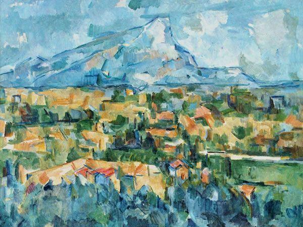 opere d'arte incompiute la montagna di saint victoire cezanne