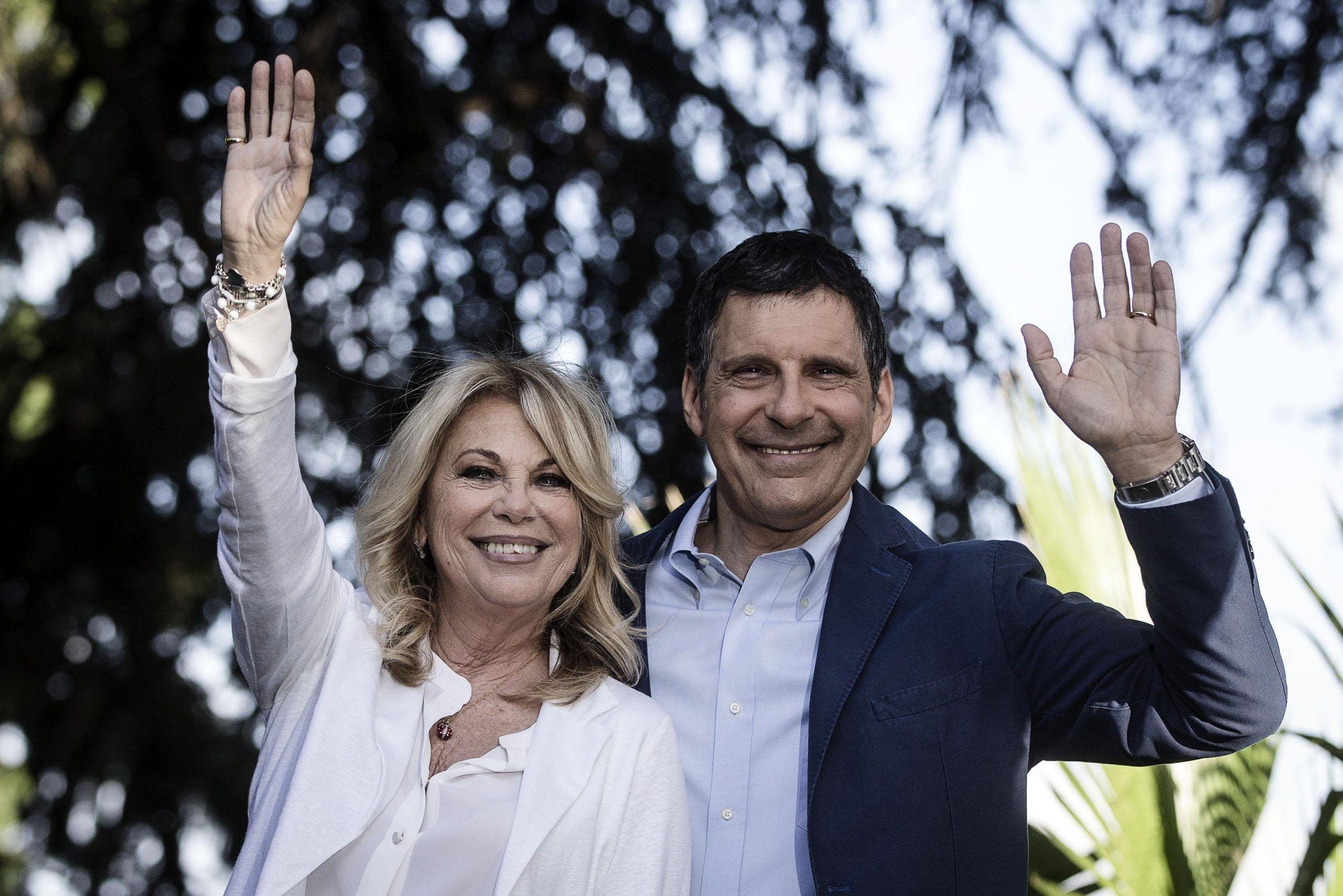 Rita Dalla Chiesa ospite ad Amici per ricordare Fabrizio Frizzi