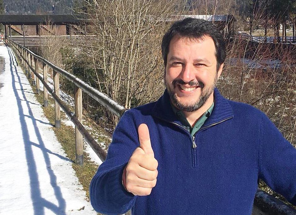 Claudio Amendola: 'Salvini è il politico più capace degli ultimi venti anni'