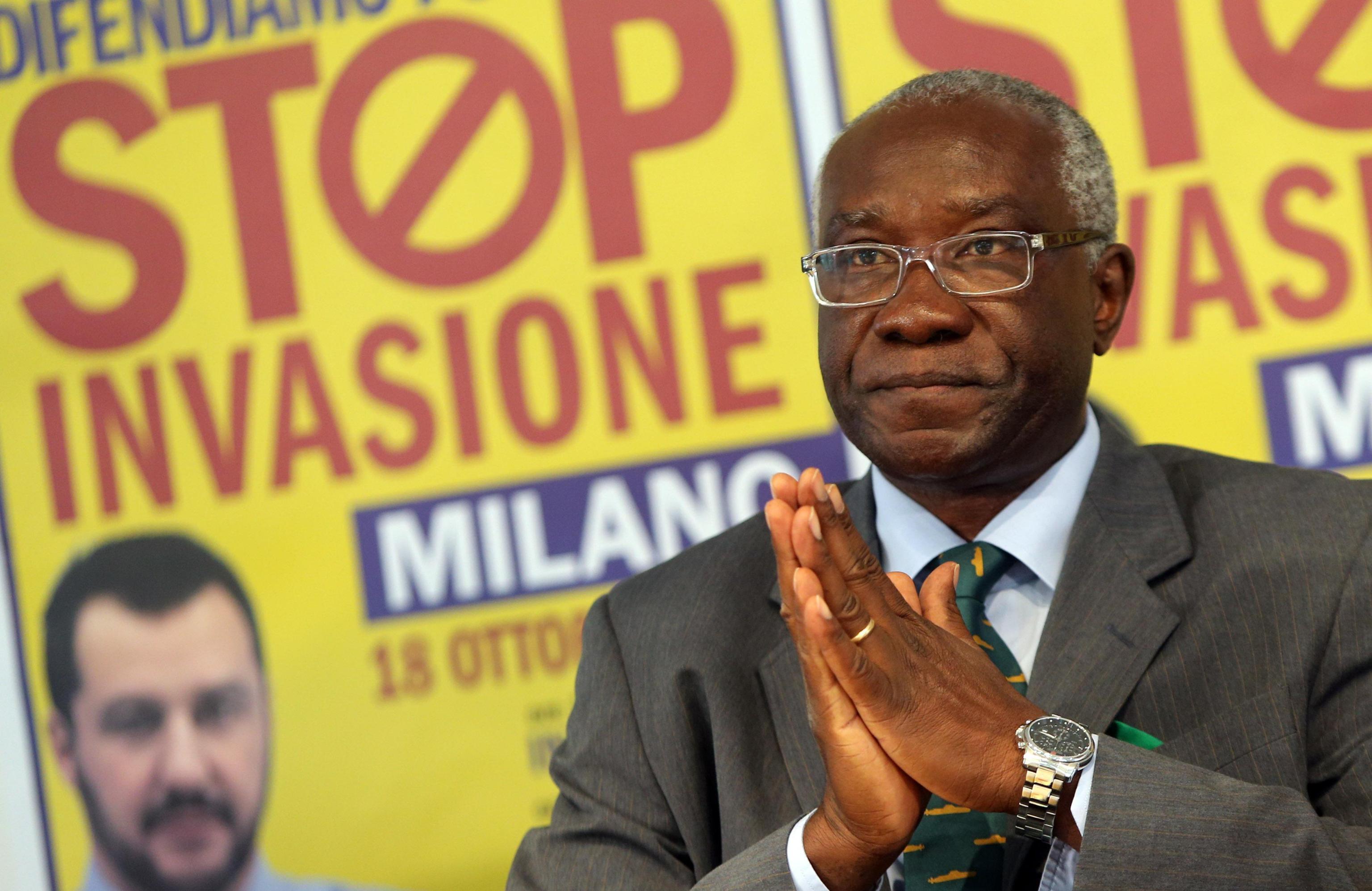 Il primo senatore di colore d'Italia è Toni Iwobi: eletto con la Lega