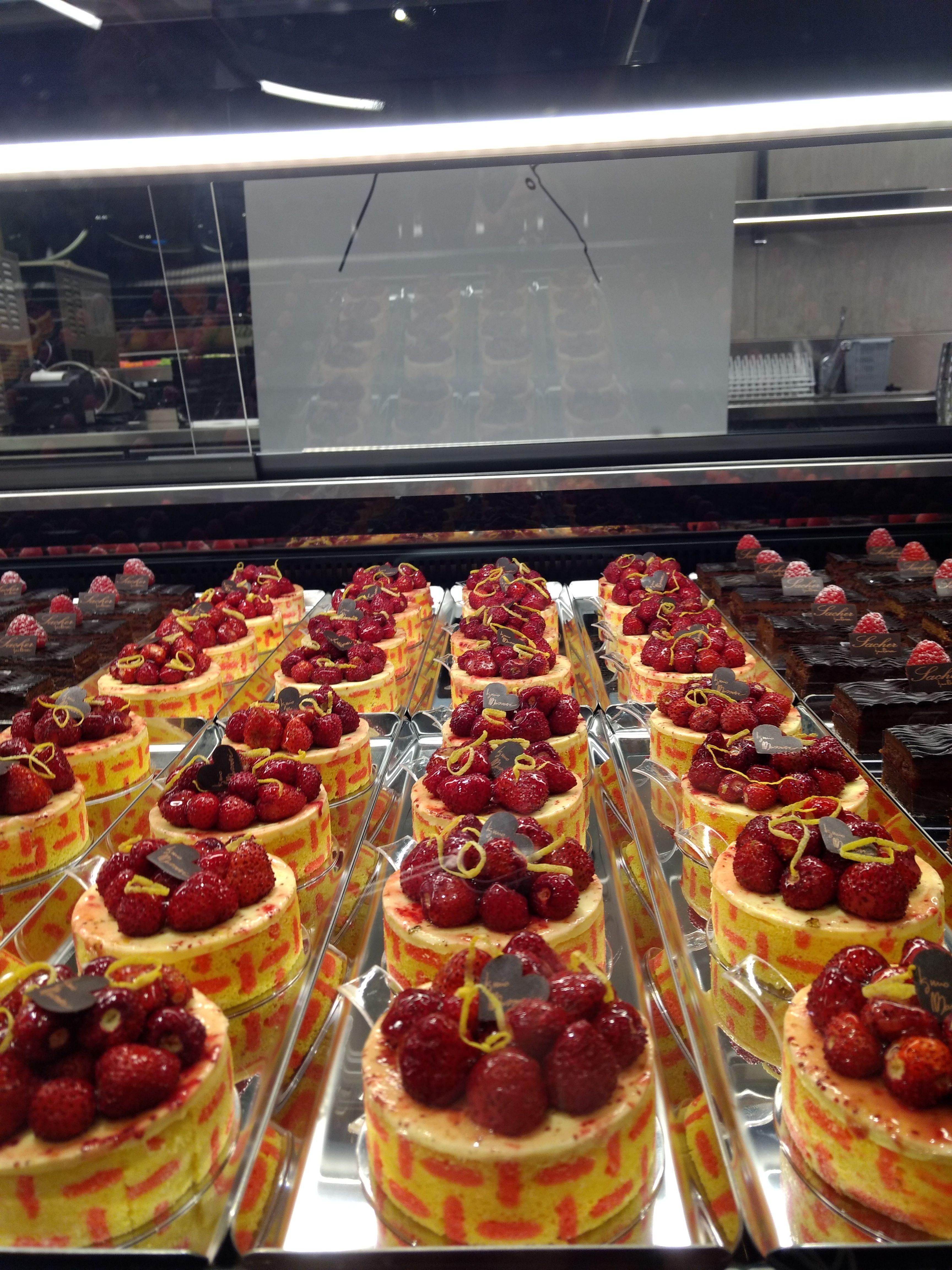 torta fragola massari
