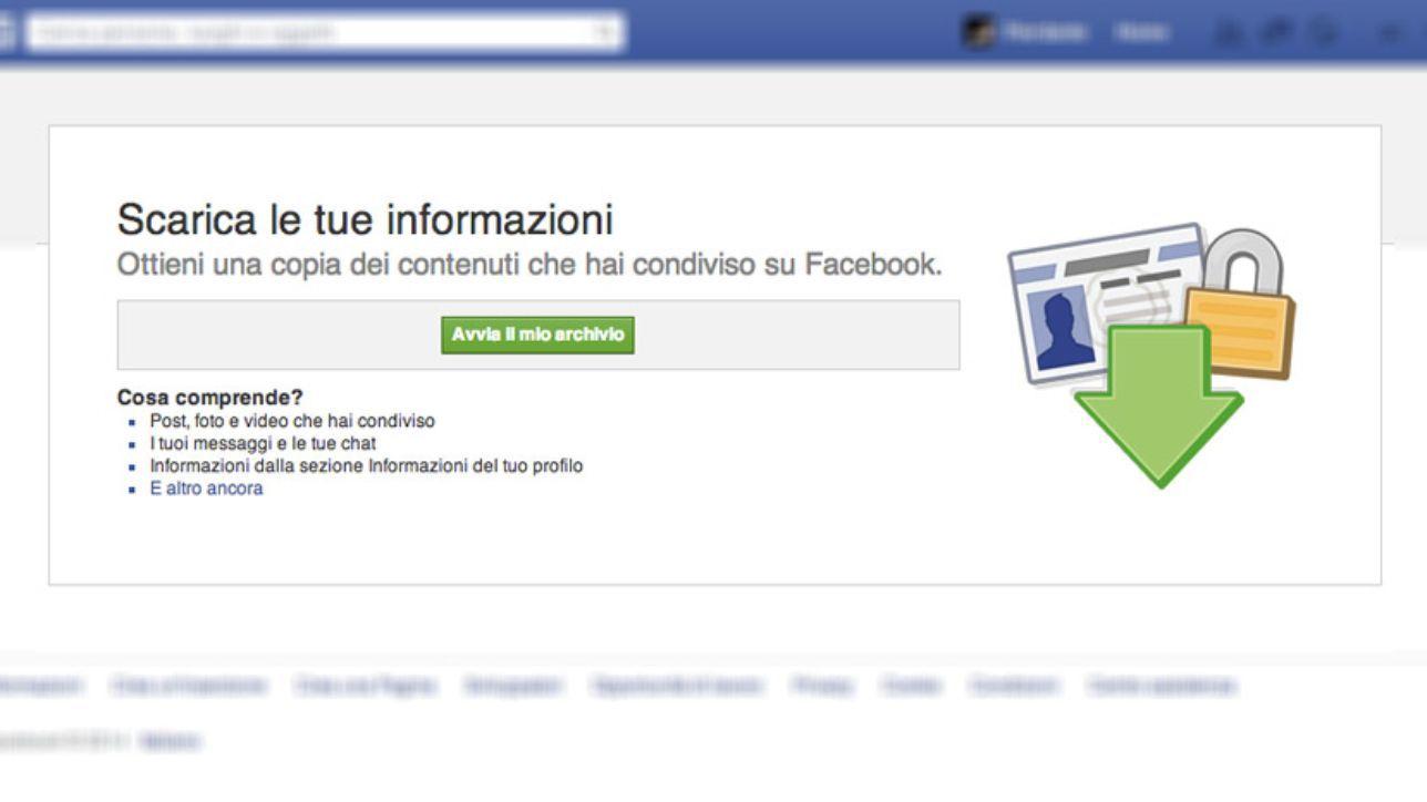 Backup foto Facebook