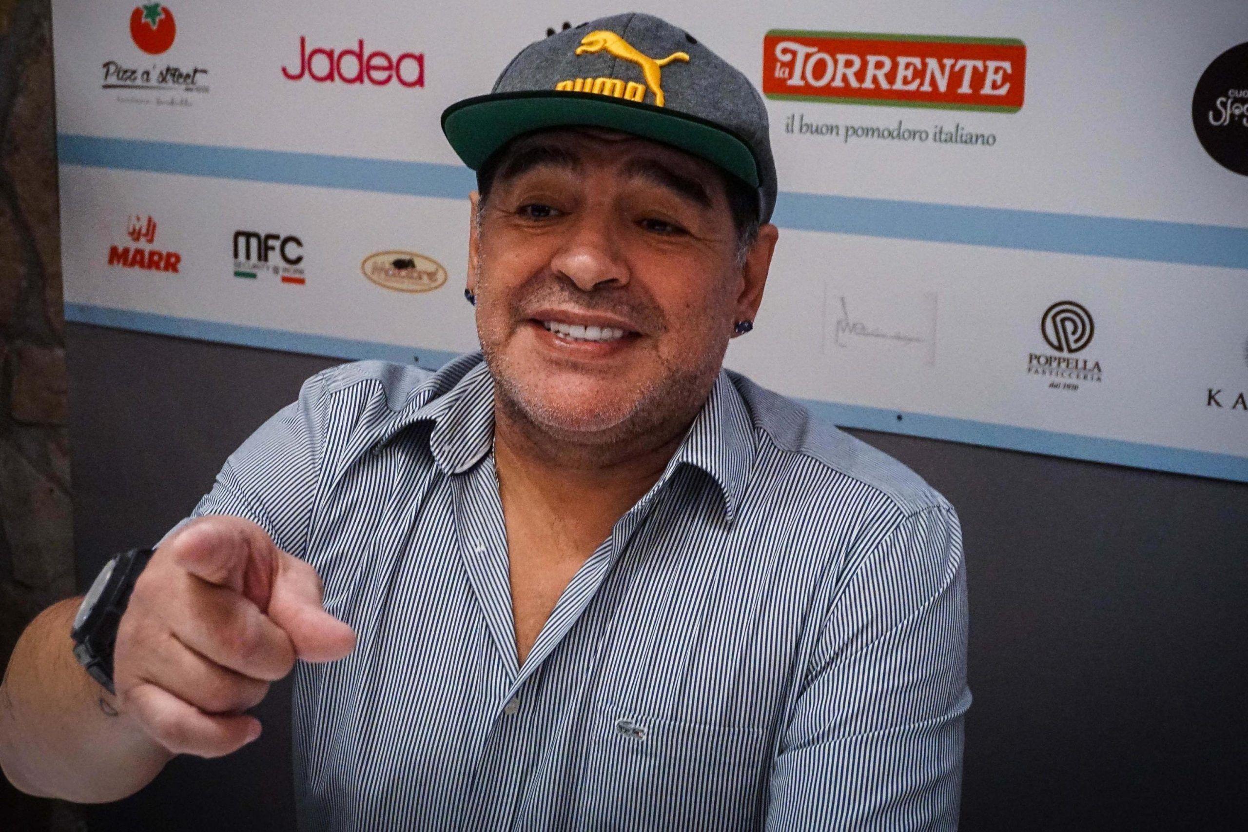 Diego Armando Maradona di nuovo nonno