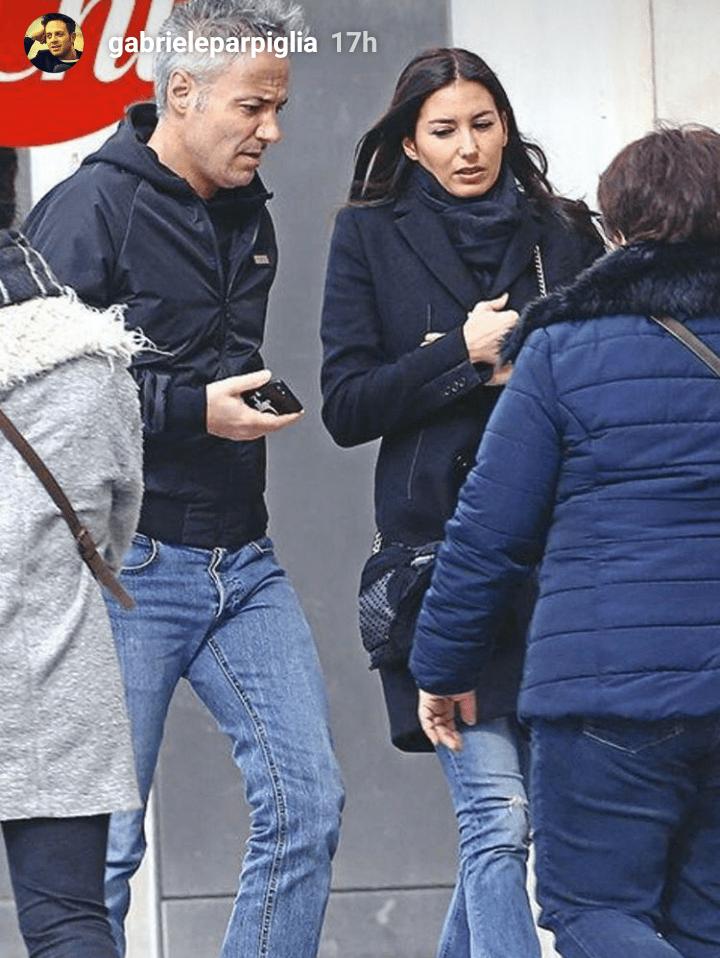 Elisabetta Gregoraci a Parigi col fidanzato