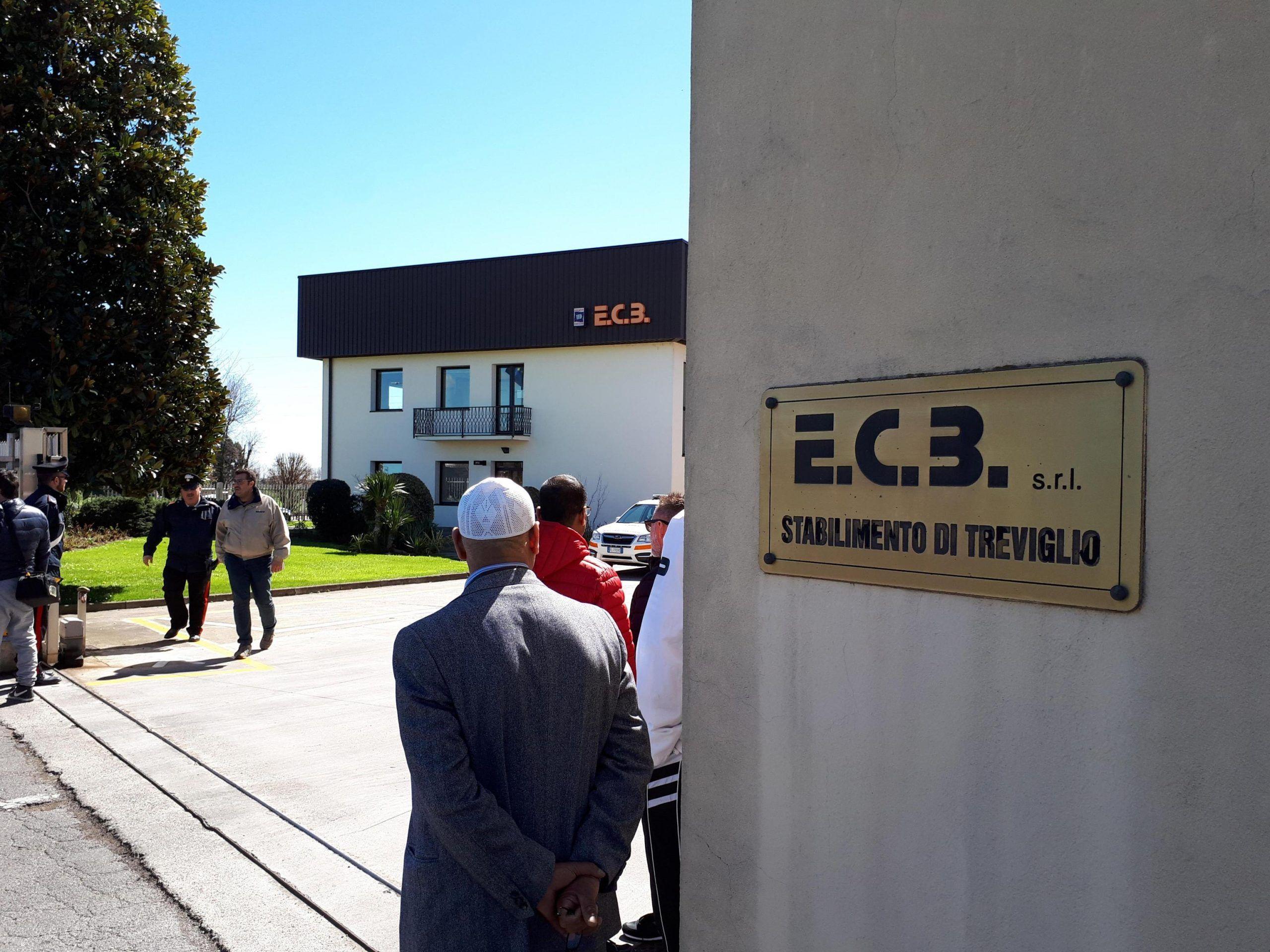 Esplosione in un'azienda a Treviglio