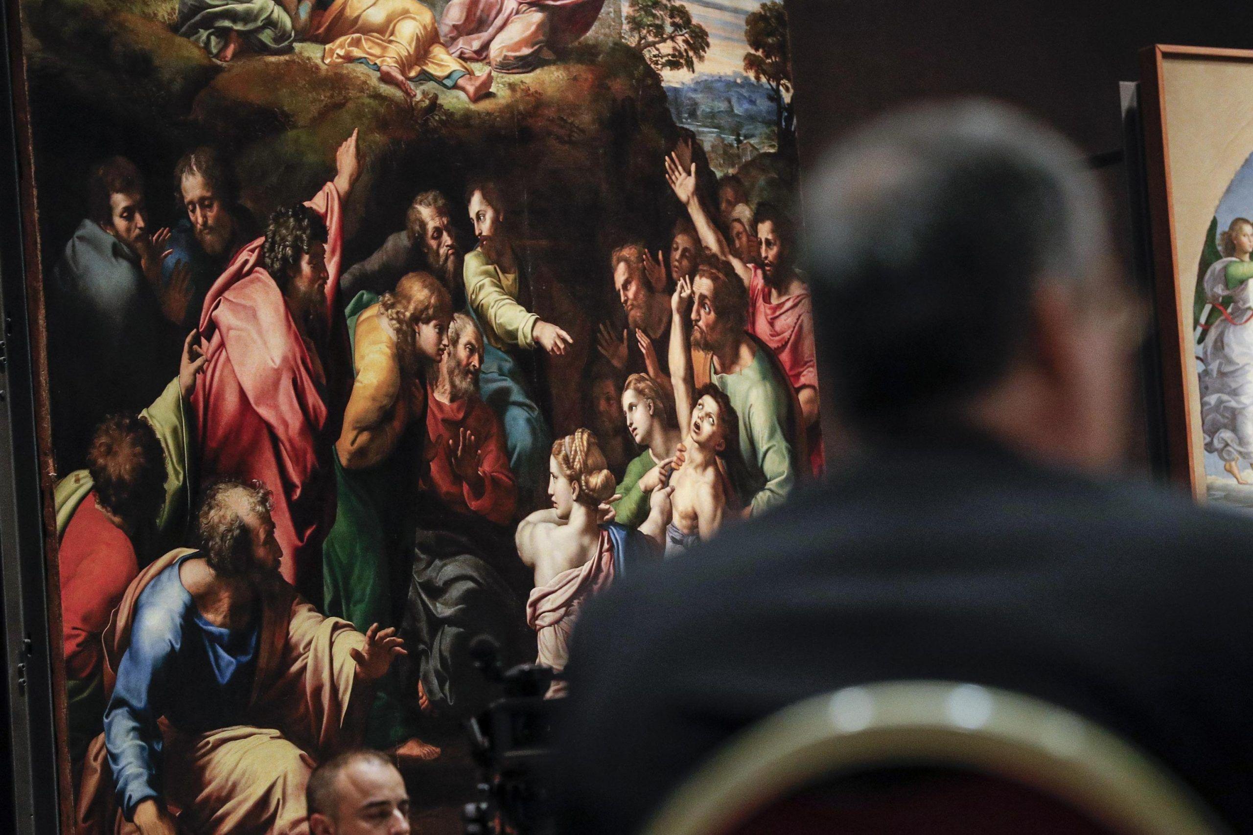Michelangelo star per live show multimediale
