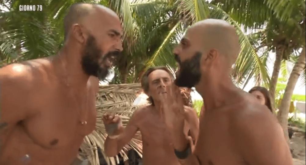 Lite tra Jonathan e Amaurys su L'Isola 13