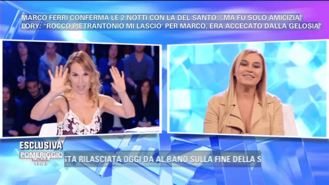 """Lory Del Santo confessa: """"Ecco cosa è successo tra me e Marco Ferri"""""""