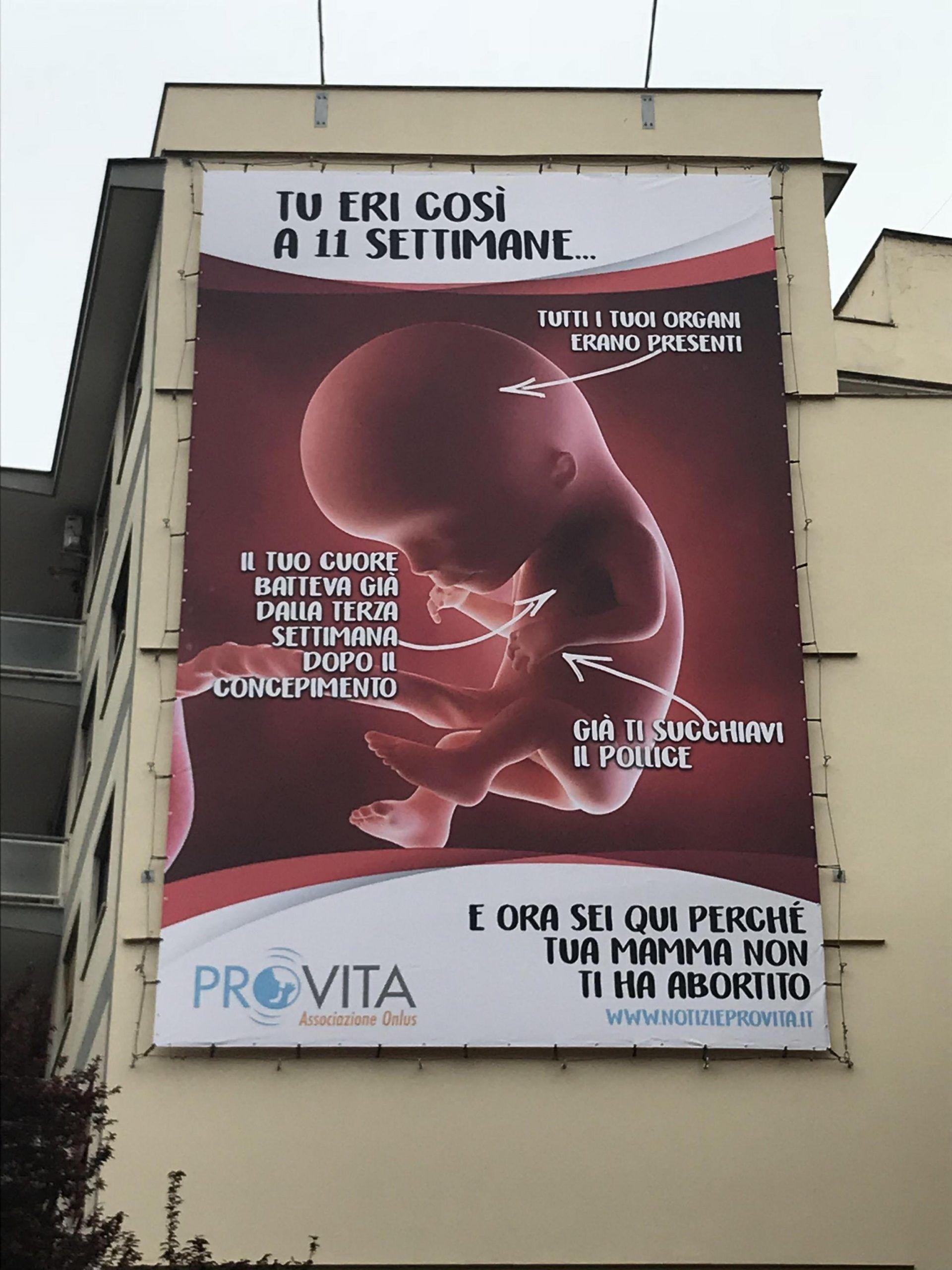 Manifesto ProVita a Roma