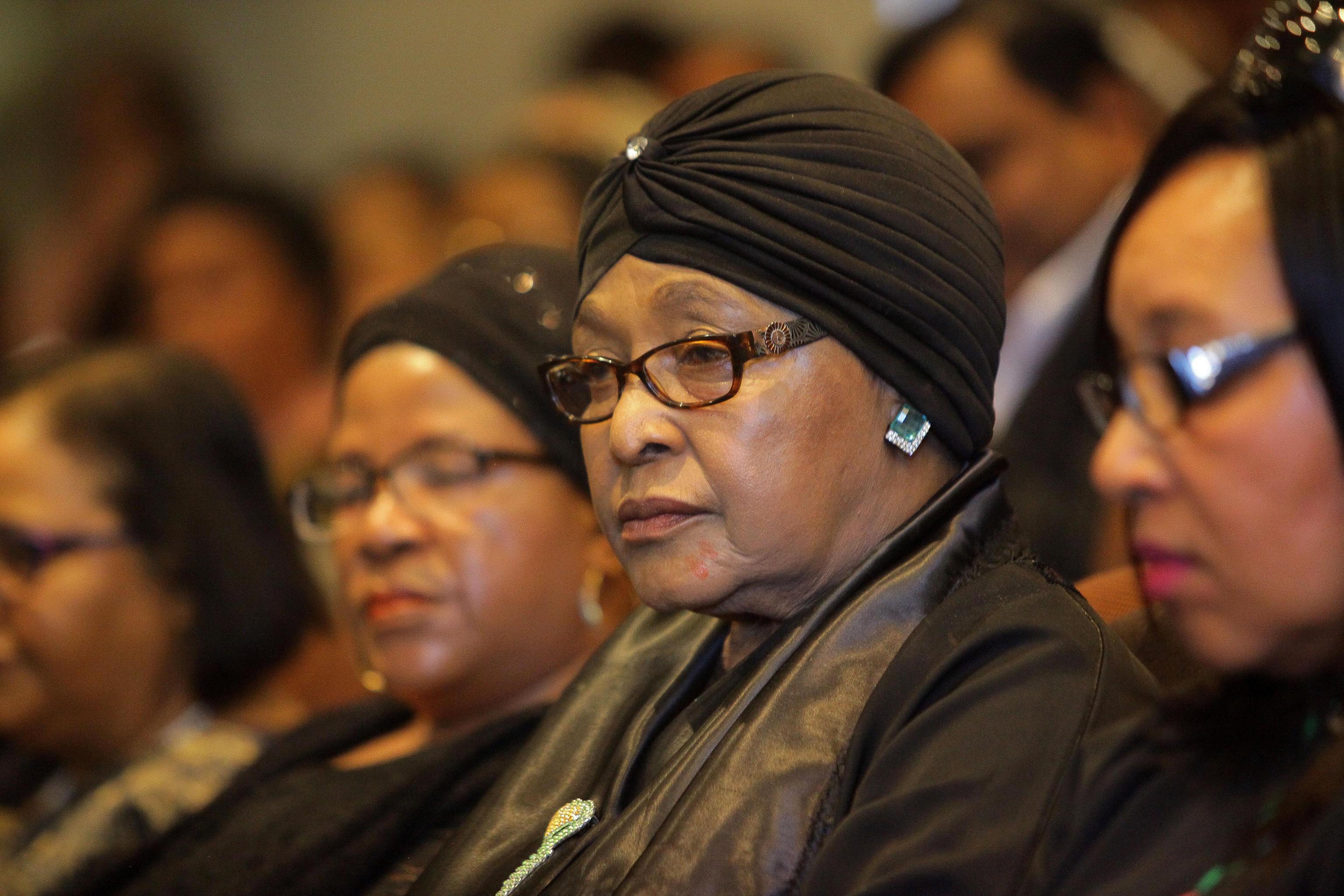 Personaggi famosi morti nel 2018 Winnie Madikizela Mandela