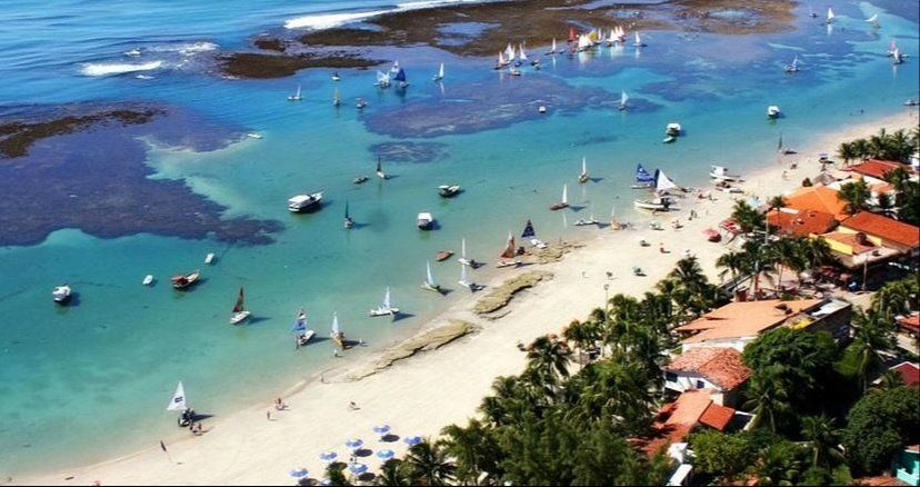 Piedade beach, Brasile