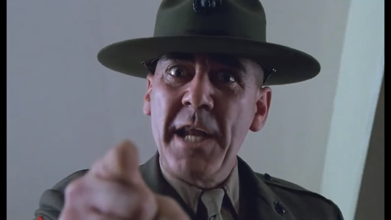 Morto Ronald Lee Ermey, addio al sergente di Full Metal Jacket