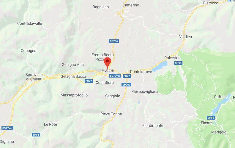 Terremoto nella Marche: forte scossa di magnitudo 4.6 a Muccia