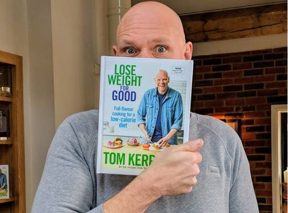 Tom Kerridge perde 70 kg