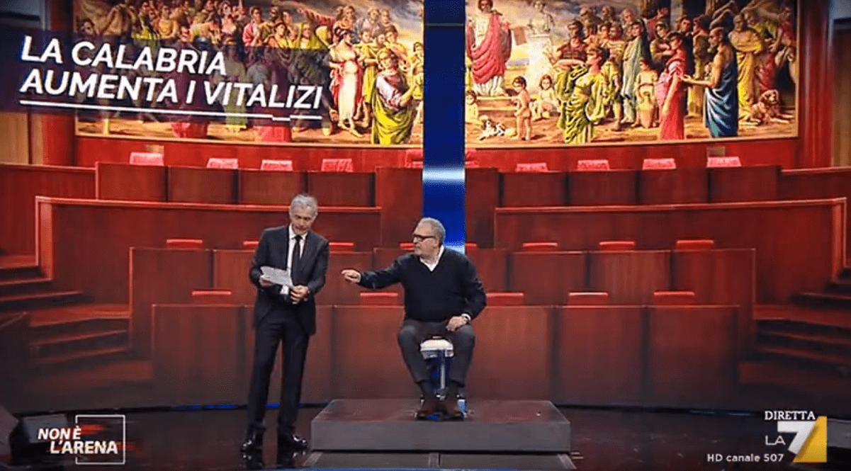 'Non è l'arena', ancora uno scontro sulla questione vitalizi