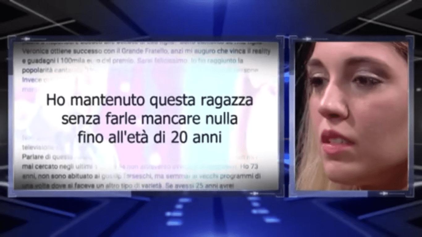 Gf15, Veronica Satti in lacrime per Bobby Solo: 'Parlarne in tv non mi sembra ridicolo'