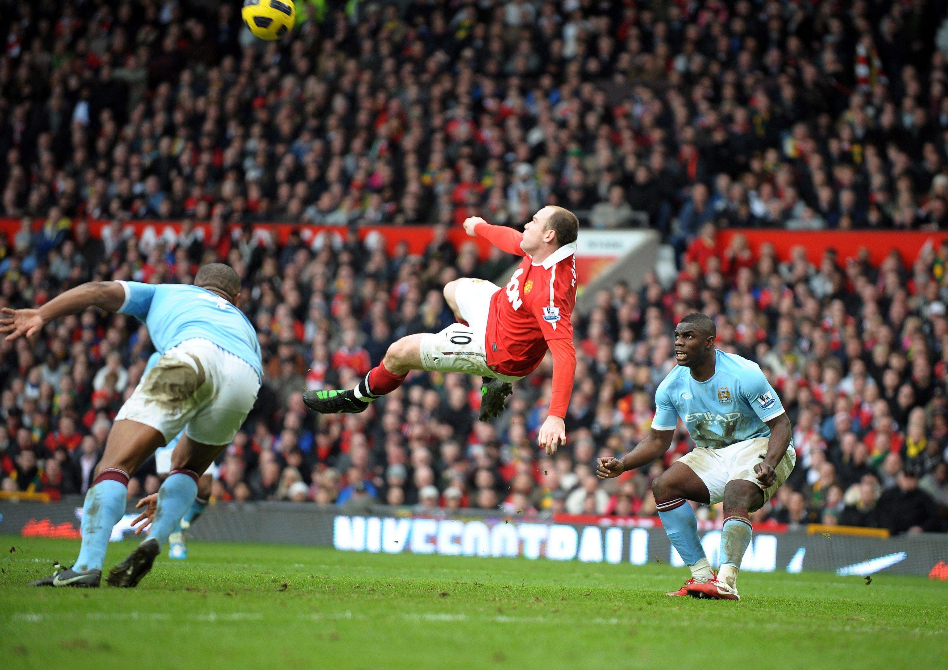 rovesciata Wayne Rooney