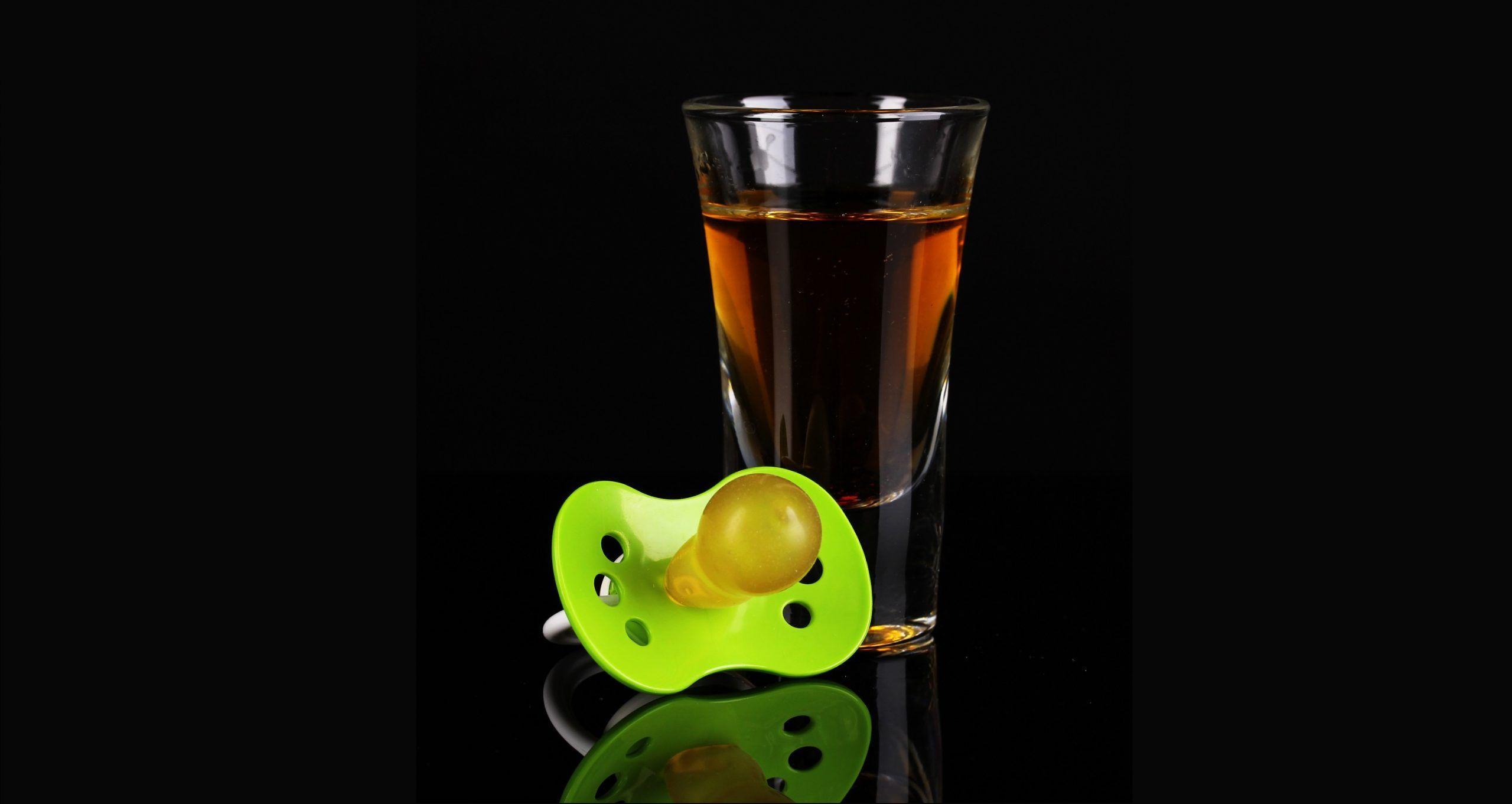 alcol a bimba