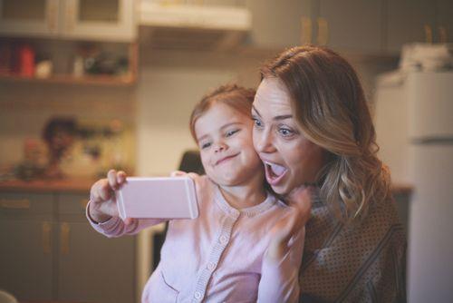 bambini sui social