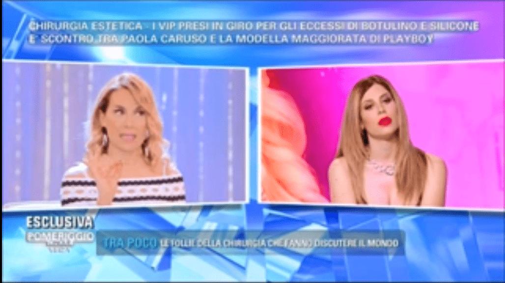 Pomeriggio 5, Barbara D'Urso contro Paola Caruso: 'Chiedi scusa'