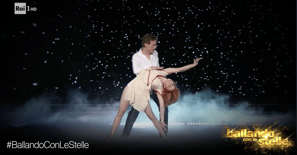 'Ballando con le stelle': siparietto tra Cesare Bocci e Selvaggia Lucarelli