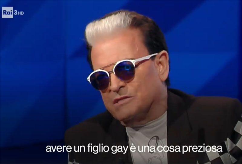 Cristiano Malgioglio a Cartabianca: 'L'omofobia è un cancro e io la combatterò sempre'