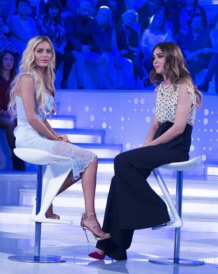 'Verissimo', Elena Morali scoppia a piangere dalla Toffanin