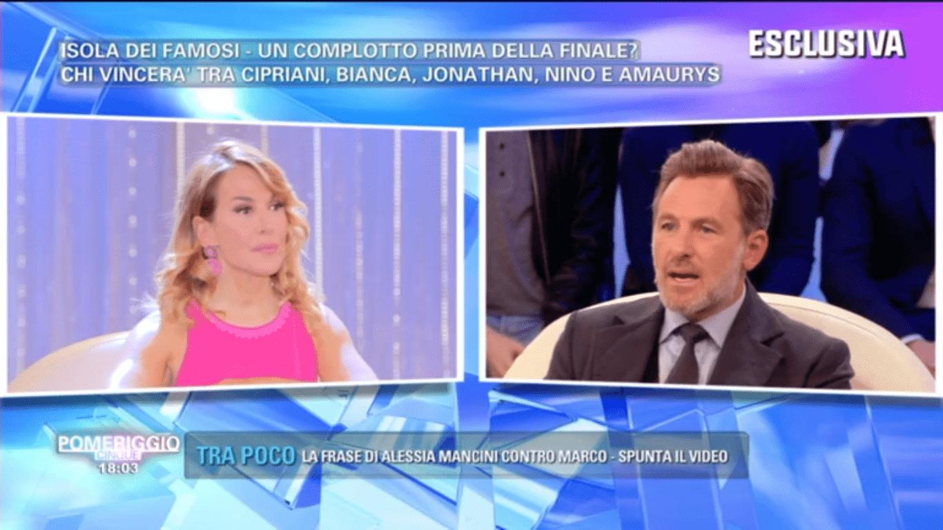 """Filippo Nardi contro Bianca Atzei: """"Non so come abbia fatto ad arrivare in finale"""""""
