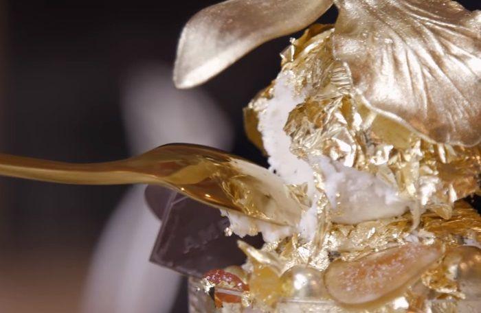 gelato all'oro