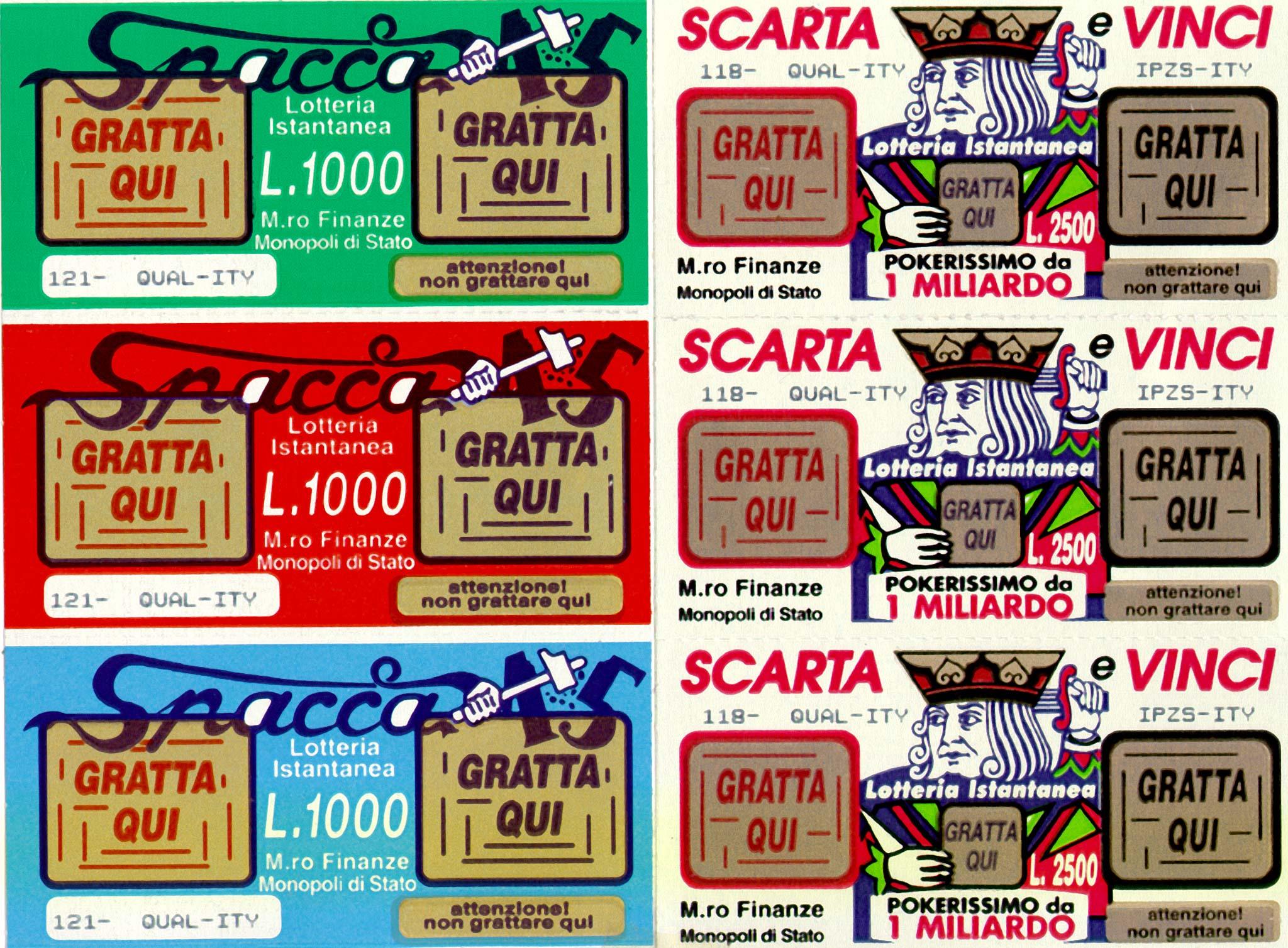 Gratta e Vinci con truffa: alteravano le schedine per incassare i premi, denunciati due tabaccai